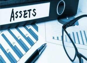 Writing off an asset