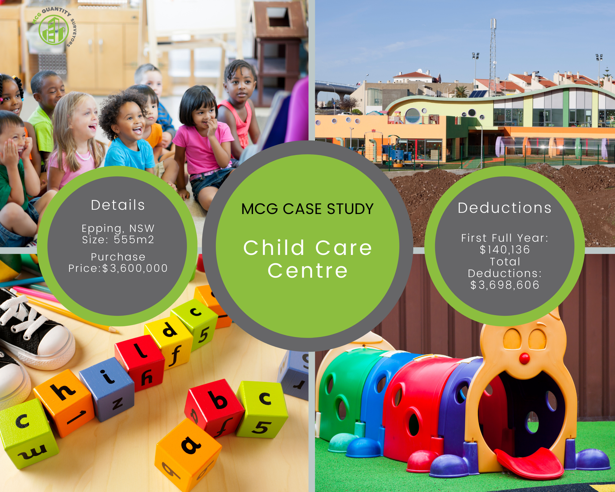 Case Study - Child Care Centre, Epping NSW