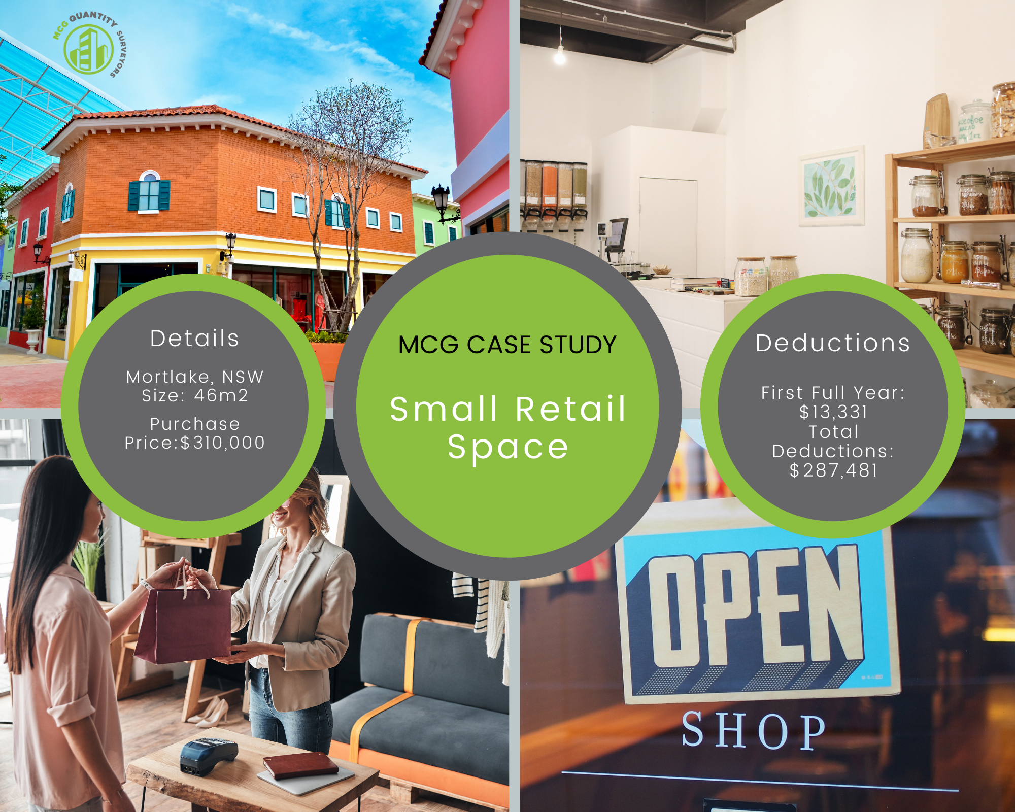 Case Study - Small Retail - Mortlake, NSW